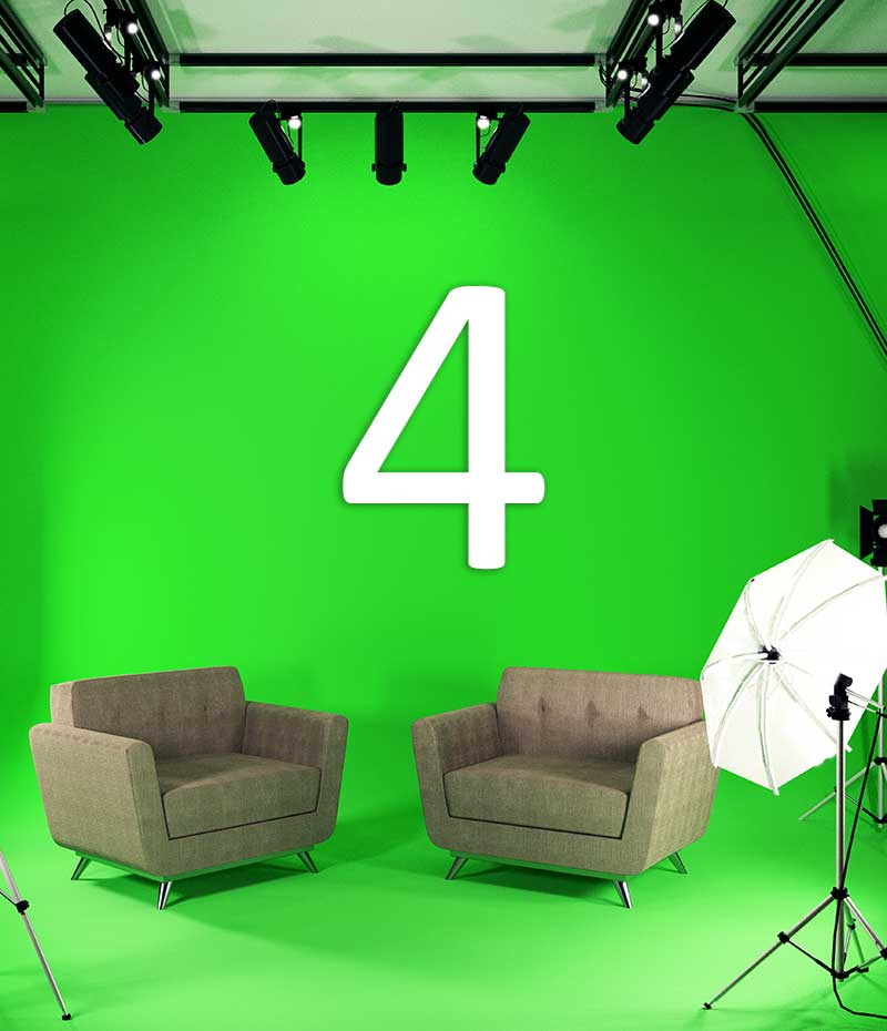 FOUR CHROMA KEY BENEFITS